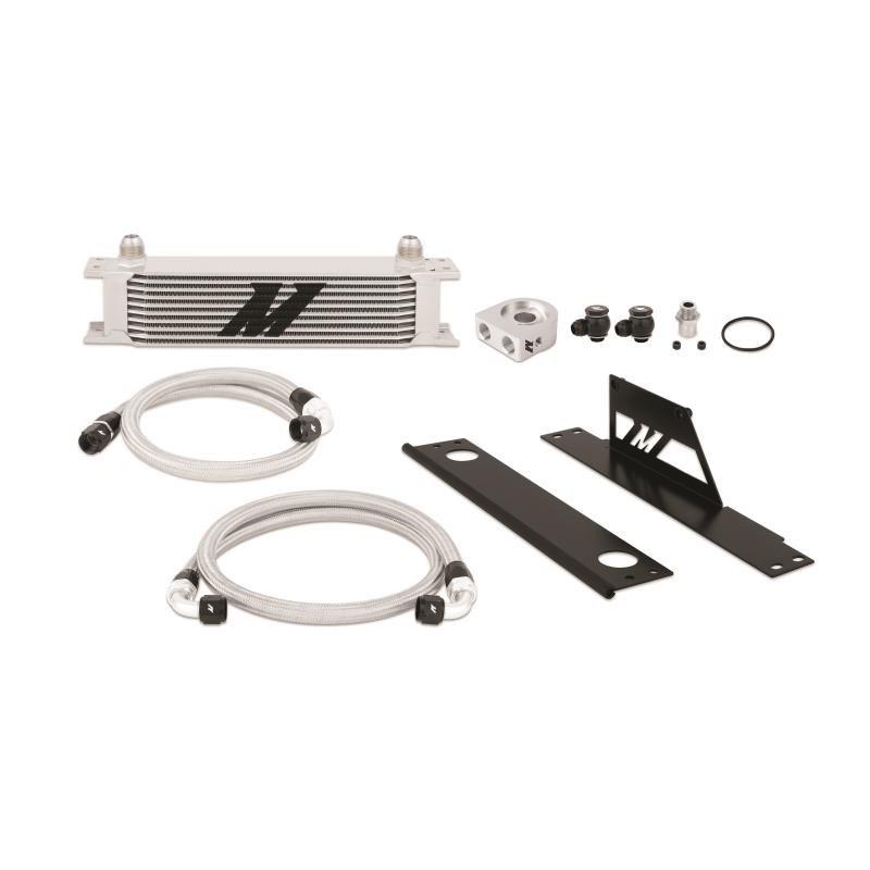 Zestaw chłodnica oleju MISHIMOTO Subaru WRX and STI Thermostatic 2001-2005 - GRUBYGARAGE - Sklep Tuningowy